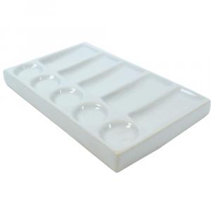 Godê de Porcelana Retangular 10 Cavidades SFA111