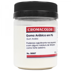 Goma Arábica em Pó Cromacolor 100g