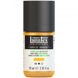 Tinta Acrílica Guache Liquitex 59ml S2 891 Cadmium Free Yellow Deep