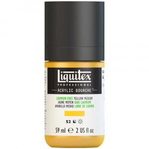 Tinta Acrílica Guache Liquitex 59ml S2 890 Cadmium Free Yellow Medium