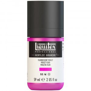 Tinta Acrílica Guache Liquitex 59ml S2 986 Fluo Violet