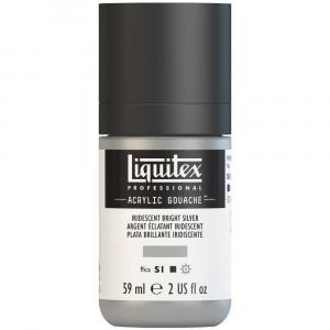 Tinta Acrílica Guache Liquitex 59ml S1 236 Bright Silver