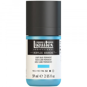 Tinta Acrílica Guache Liquitex 59ml S1 770 Light Blue Permanent