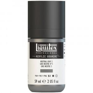 Tinta Acrílica Guache Liquitex 59ml S1 599 Neutral Grey 5