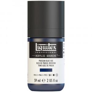 Tinta Acrílica Guache Liquitex 59ml S1 320 Prussian Blue Hue