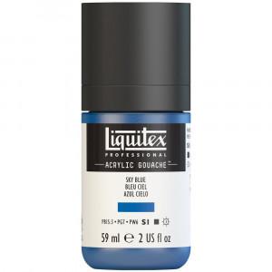 Tinta Acrílica Guache Liquitex 59ml S1 279 Sky Blue