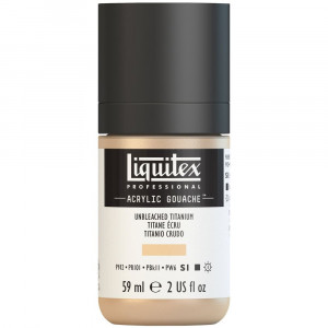 Tinta Acrílica Guache Liquitex 59ml S1 434 Unbleached Titanium