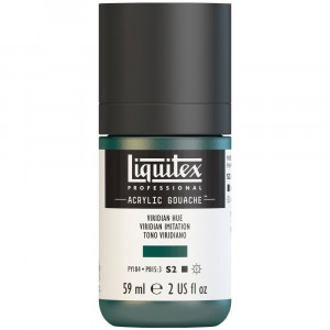 Tinta Acrílica Guache Liquitex 59ml S2 398 Viridian Hue