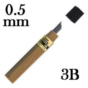 Mina Grafite Pentel 0.5mm 3B