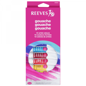 Tinta Guache Reeves 12 cores com 10ml