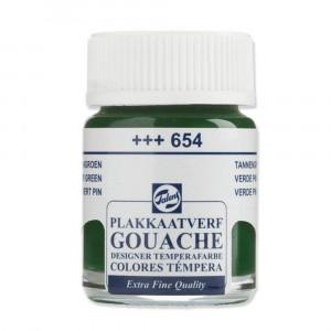 Tinta Guache Para Caligrafia Talens 16ml 654 Fir Green