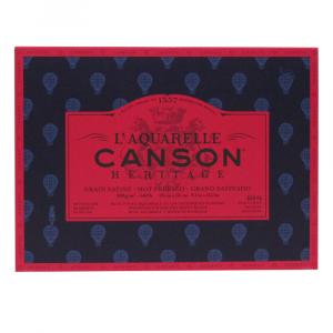 Bloco de Papel Para Aquarela Heritage Canson TS 300g/m² 23x31cm