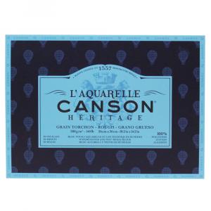 Bloco de Papel Para Aquarela Heritage Canson TT 300g/m² 26x36cm