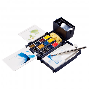 Aquarela Winsor & Newton Cotman Field Box 12 Cores