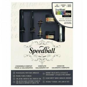 Conjunto de Caligrafia Completo Speedball 3062