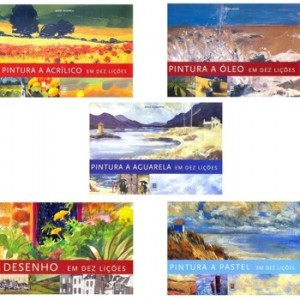 Kit de Livros para Pintura em 10 Lições