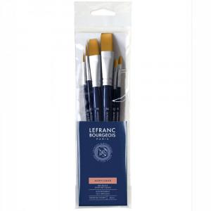 Kit de Pincéis Lefranc & Bourgeois 6 unidades 300234