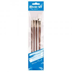 Set de Pincel para Pintura Artística Sinoart SFB0274 04 Unidades