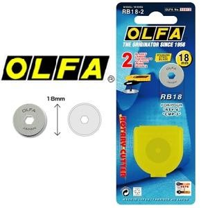 Lâmina Para Estilete Compasso de Corte OLFA RB18-2