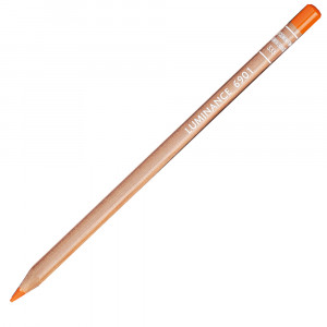 Lápis de Cor Caran d'Ache Luminance 533 Dark Cadmium Orange