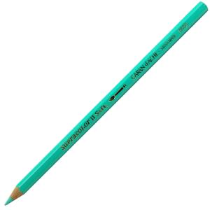 Lápis Aquarelado Caran D'Ache Supracolor 191 Turquoise Green