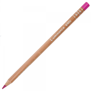 Lápis de Cor Caran d'Ache Luminance 350 Purplish Red