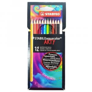 Lápis de Cor Aquarelável Stabilo Aquacolor