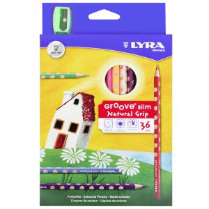 Lápis de Cor Groove Slim Lyra 36 Cores