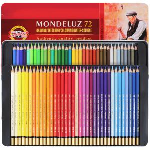 Lápis Aquarelável Mondeluz 72 Cores 3727