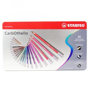Lápis Pastel Aquarelável Carbothello Stabilo 60 Cores