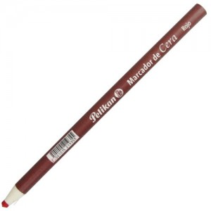 Lápis Dermatográfico Pelikan Vermelho