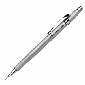 Lapiseira Pentel Sharp 0.5 mm P205-Z Prata