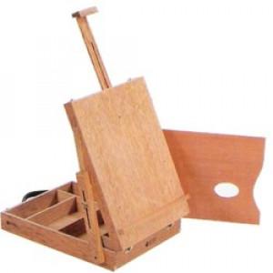 Maleta com Cavalete Para Pintura Trident 12504