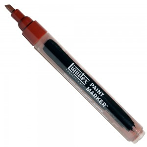 Marcador Liquitex Paint Marker 4mm 4620127 Burnt Sienna
