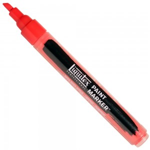 Marcador Liquitex Paint Marker 4mm 151 Cadmium Red Medium Hue