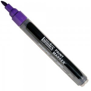 Marcador Liquitex Paint Marker 4mm 4620186 Dioxazine Purple