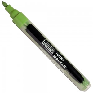 Marcador Liquitex Paint Marker 4mm 4620224 Hooker's Green Hue Permanent