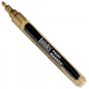 Marcador Liquitex Paint Marker 4mm 4620237 Iridescent Antique Gold