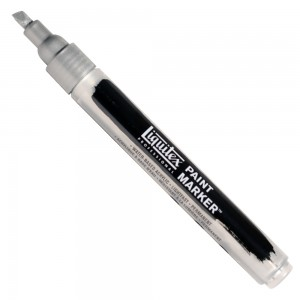 Marcador Liquitex Paint Marker 4mm 4620239 Iridescent Rich Silver