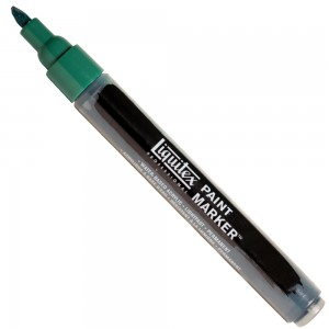 Marcador Liquitex Paint Marker 4mm 4620317 Phthalocyanine Green (Blue Shade)