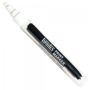 Marcador Liquitex Paint Marker 4mm 4620432 Titanium White