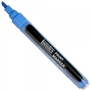 Marcador Liquitex Paint Marker 4mm 470 Cerulean Blue Hue