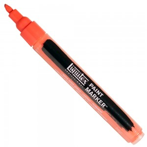 Marcador Liquitex Paint Marker 4mm 510 Cadmium Red Light Hue