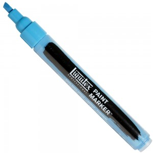 Marcador Liquitex Paint Marker 4mm 570 Brilliant Blue