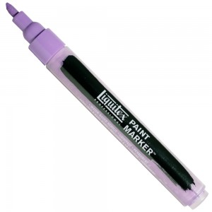 Marcador Liquitex Paint Marker 4mm 590 Brilliant Purple