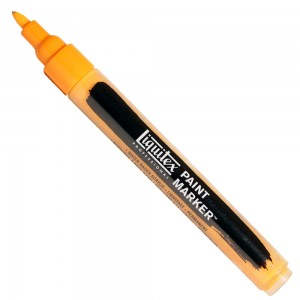 Marcador Liquitex Paint Marker 4mm 720 Cadmium Orange Hue