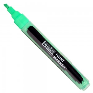 Marcador Liquitex Paint Marker 4mm 985 Fluorescent Green