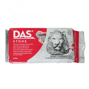 Pasta Para Modelar Sintética DAS 1Kg Stone