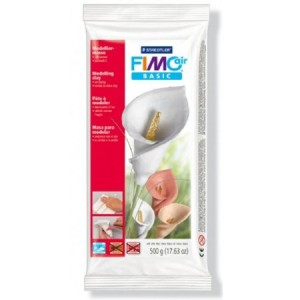 Massa FIMO Air Basic Branca 500g