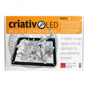 Mesa de Luz Profissional Criativo LED A4